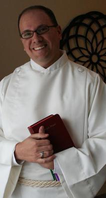 Preparing to Serve Mass at St. Catherine's