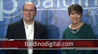 On the Baldino Digital Set with Marisa Burke